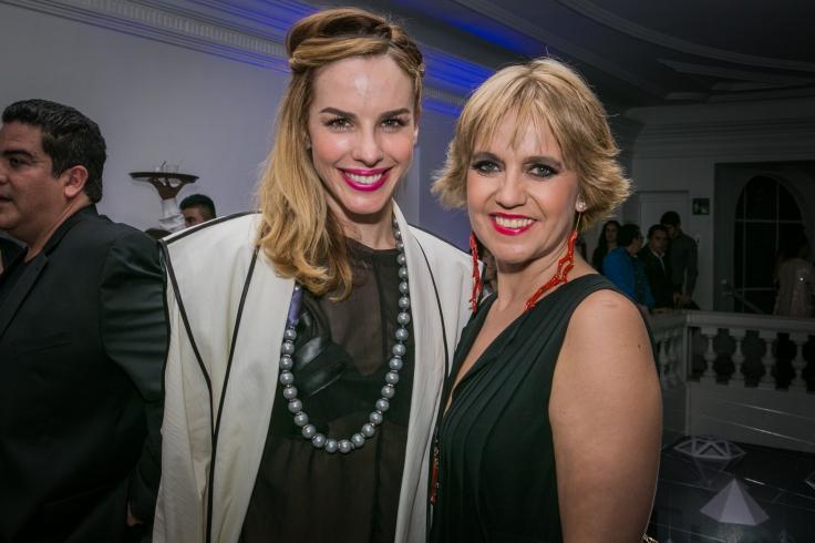 Eglantina Zingg y Rosa Tous