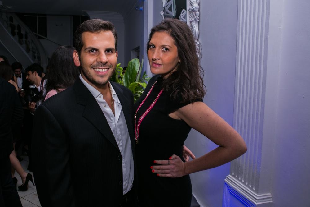 Emilio Guerra y Natalia Salazar
