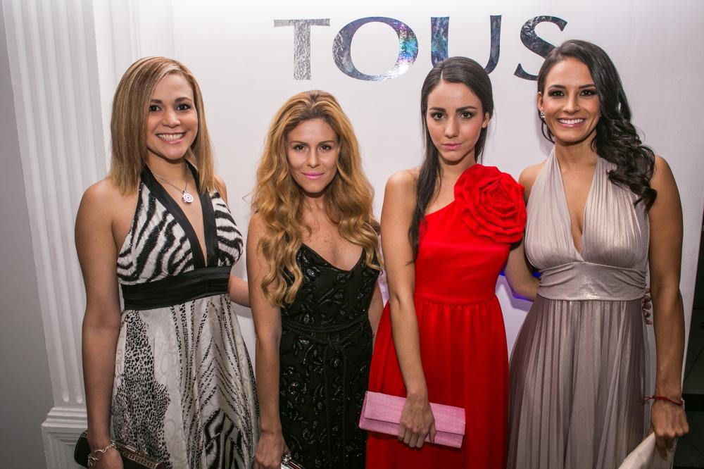 María Karelia, Michelle Torres, Chantal Torres, Georgina Olguin