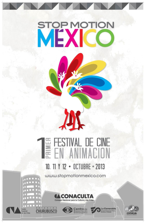 CARTEL OFICIAL STOP MOTION MÉXICO