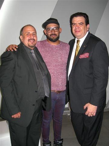 Guillermo Lona, Javier Piña y Jorge De León.