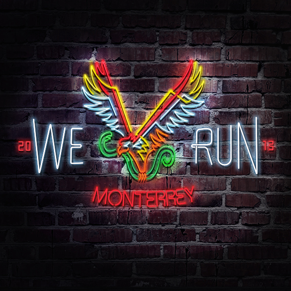 Logo We Run Monterrey