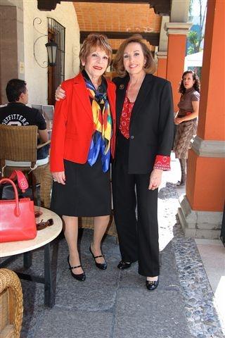 Odette de Anda y Kena Moreno