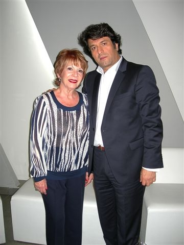 Odette de Anda y Marcos Cherem