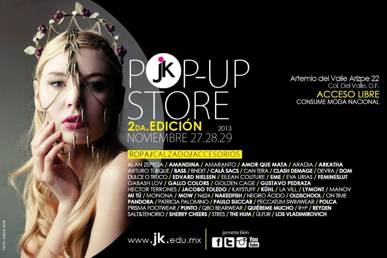 1.-Pop Up Store-Universidad Jannette Klein
