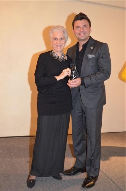 Anna Fusoni y Mauricio Serrano