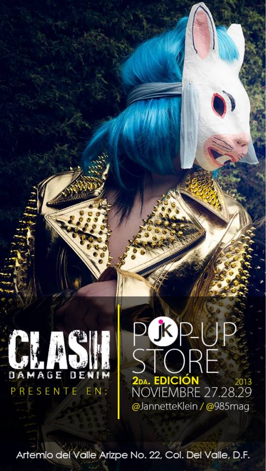 Clash-Pop Up Store-Universidad Jannette Klein
