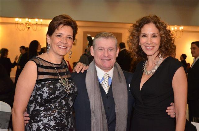 Cristina Palacios, Víctor Sabido y Beatriz Calles