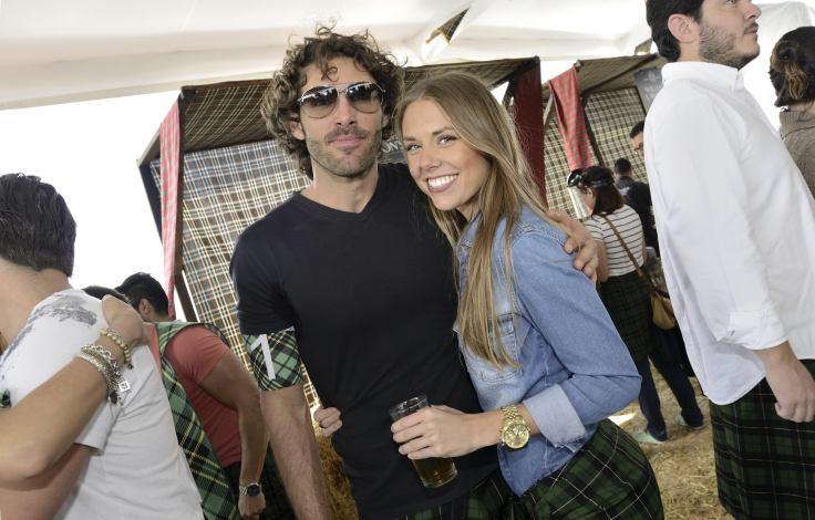 Iñaki Colchero y Andrea Bou