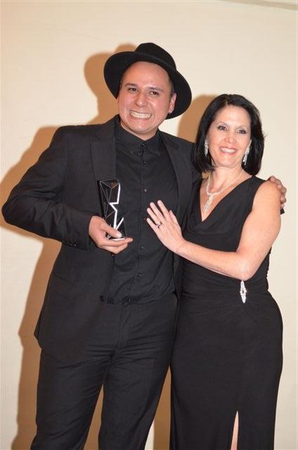 Iván Aguirre y Linda Flores