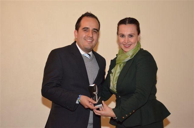 Rodrigo Carrera y Claudia Ramos