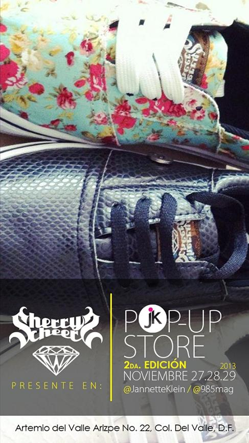 Sherry Cherrs-Pop Up Store-Universidad Jannette Klein