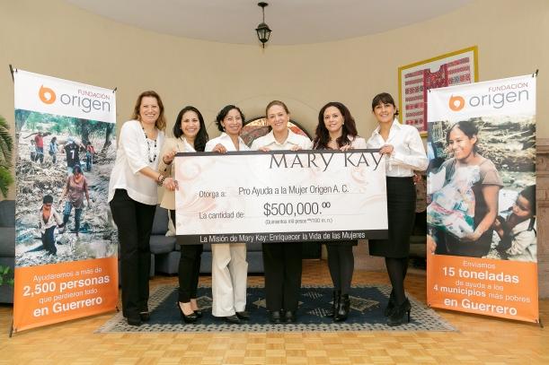1771 - Mary Kay -Donativo Belleza Que Cuenta - Hi