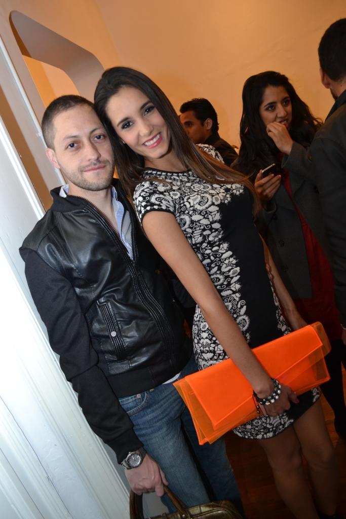 Benjamin Barba y Bárbara Islas