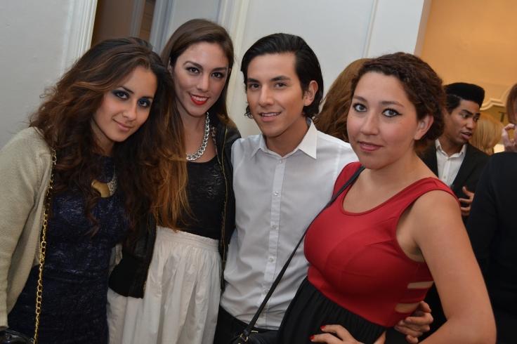 Gabriela Covarrubias, Celina Garza, Carlos Gutiérrez y Mara Gutiérrez
