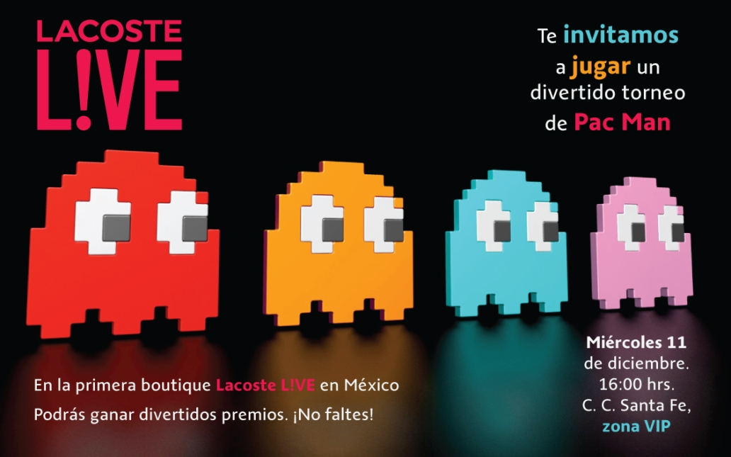 Invitación Pac Man