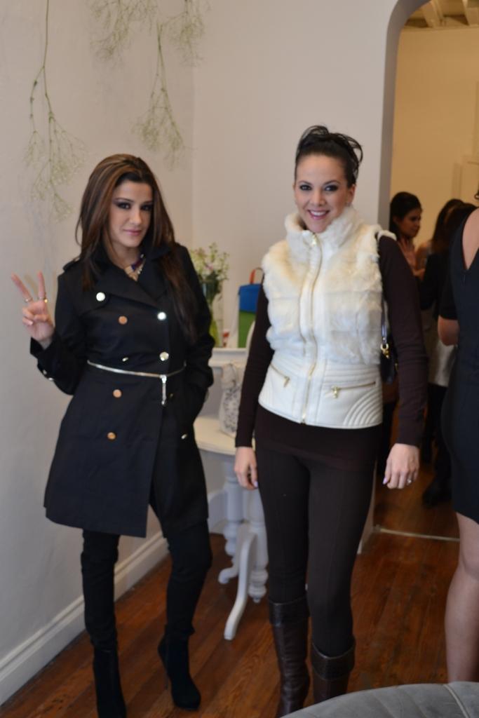 Tana Planter y Verónica de Ita