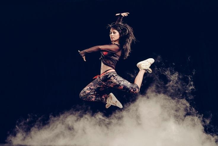 Fotografía por Carlos Serrao - Vanessa Vassallo presenta Reebok Dance