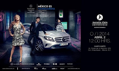 3.-Invitación Mercedes Benz Fashion Week México-Universidad Jannette Klein