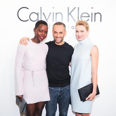 CALVIN KLEIN COLLECTION Presents the Women's Fall 2014 Runway Show at Spring Studios