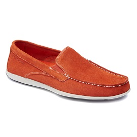 ROCKPORT-Caballero-CAPE NOBLE -ORANGE WASHABLE SUEDE-$1,399.00