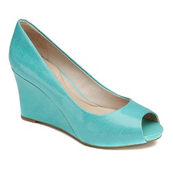 ROCKPORT-Dama-SEVEN TO 7 WEDGE PEEP 85MM PLAIN PUMP-ATLANTIS-$1,999.00
