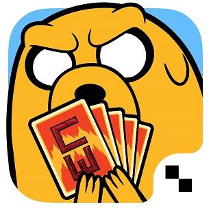 5.-APP Guerra de Cartas-Hora de Aventura, Cartoon Network