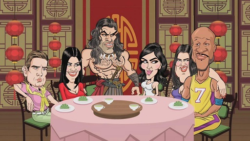 1.-Conan el Kardashian-Cartoon Network