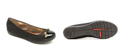 1.-ROCKPORT-TOTAL MOTION BALLET-BLACK-$1,899.00