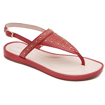 13.-ROCKPORT-JAELIAH STUD THONG-POPPY RED-$1,799.00
