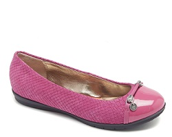 2.-ROCKPORT-TOTAL MOTION BALLET-FUCSHIA ROSE-$1,899.00