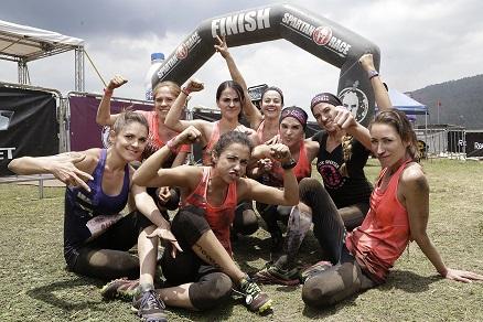 2Gran Satisfacción después de cruzar la meta - Team Reebok - Spartan Chicked