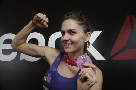 2Zoraida Gómez, Team Reebok - Spartan Race Chicked