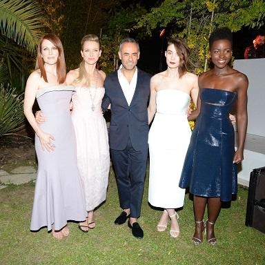 Julianne Moore, Naomi Watts, Rooney Mara, Lupita Nyong'o