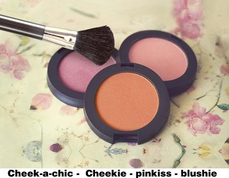 Cheek a chic-cheekie-pinkiss-blushie