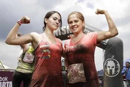 Jocelin Ramos y Verónica Velázquez - Team Reebok - Spartan Race Chicked