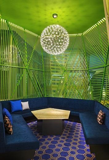 Lounge Detail - W Mexico City