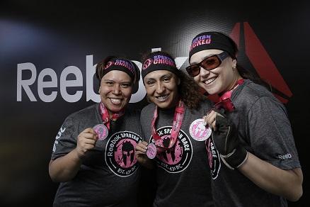 Medallistas orgullosas - Team Reebok - Sandra Oropeza, Valeria Pérez, Leticia Ciprés