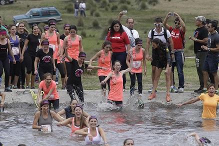 Team Reebok en el Lago - Spartan Race Chicked