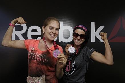 Verónica Velázquez y Miryam Morales - Team Reebok