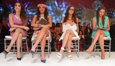 Danna, Regina,Yuya Nancy Vega