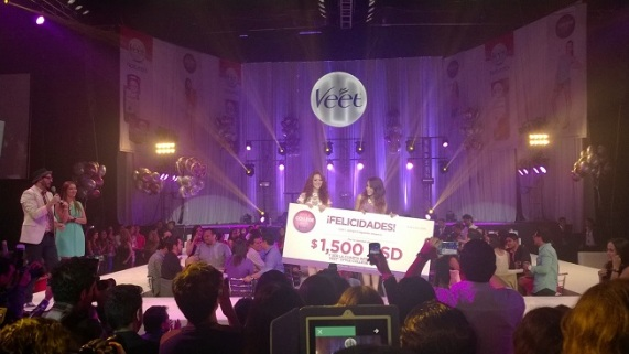 Ganadora Paulina Rodriguez
