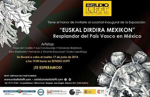 INVITACION EXPO PAIS VASCO patrocinio