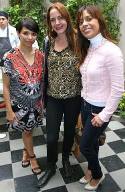 Rebeca Torres, Ma. fernanda Garcia y Silvia Herrera.