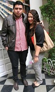 Refa Garduño y Ivonne Sanchez