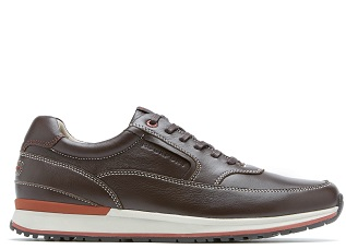 ROCKPORT TRUWALKZERO II  BLUCHER MUDGUARD-COFFEE SDE