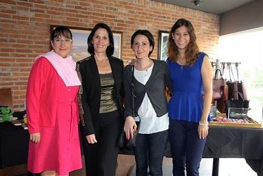 Gaby Sandoval Linda Flores Shula Atri y Barbara Gonzalez