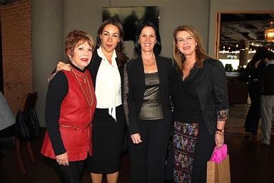 Odette de Anda Cristina Pineda Linda Flores y Lydia Lavin (2)