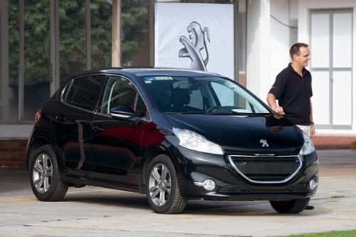 Pruebas de la gama Peugeot