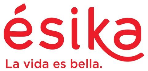 Logo Esika con el Lema